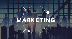 Marketing Planning Strategy Commercial Advertisement Concept Royalty Free Stock Image