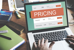 Marketing Pricing Price Promotion Value Concept Stock Images