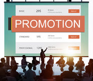 Marketing Pricing Price Promotion Value Concept.  Stock Photography