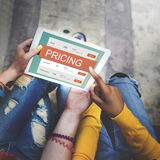 Marketing Pricing Price Promotion Value Concept royalty free stock photography