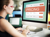 Marketing Pricing Price Promotion Value Concept.  Royalty Free Stock Photos