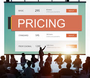 Marketing Pricing Price Promotion Value Concept Royalty Free Stock Photos