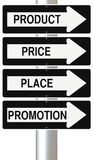 Marketing Principes Royalty-vrije Stock Fotografie