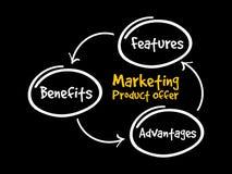 Marketing product offer mind map flowchart