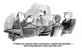 Marketing Proposition Stock Image