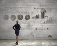 Marketing report data Royalty Free Stock Photo