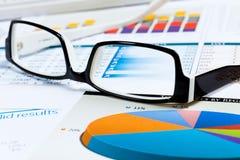 Marketing report Stock Photography