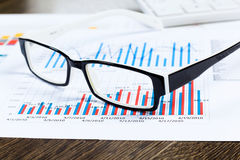 Marketing report Stock Photo