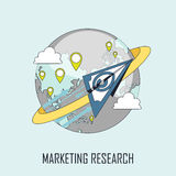 Marketing research concept Royalty Free Stock Photo