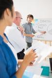 Marketing seminar Stock Image