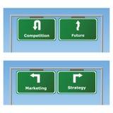 Marketing signs vector illustration