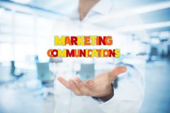 Marketing communications concept Stock Photo