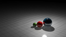 MARKETING with spheres stock video