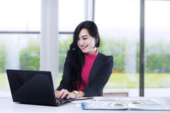 Marketing staff working in office 1 Royalty Free Stock Photography