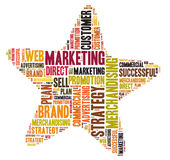Marketing star Stock Photos