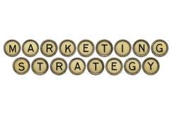 Marketing Strategie Royalty-vrije Stock Foto