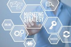Marketing Strategie stock afbeelding