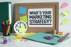 Marketing Strategie stock foto's