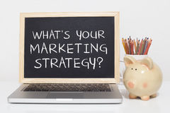 Marketing Strategie royalty-vrije stock foto's