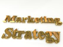 Marketing Strategy Stock Photo