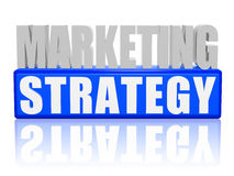 Marketing strategy Stock Image