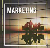 Marketing Strategy Branding Commercial Advertisement Plan Concep Stock Photography