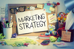 Marketing Strategy. Business concept background stock photography