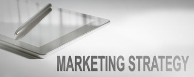 MARKETING STRATEGY Business Concept Digital Technology. Royalty Free Stock Image