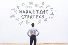 Marketing strategy royalty free stock image