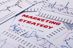Marketing strategy concept Stock Photos
