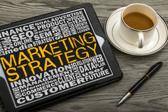 Marketing strategy concept Stock Image