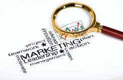 Marketing strategy concept Stock Images