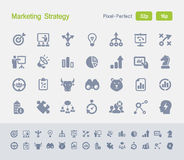 Marketing Strategy | Granite Icons Stock Images