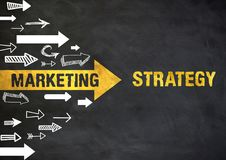 Marketing Strategy Royalty Free Stock Photos