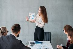 Marketing strategy revenue growth business analyst stock photography