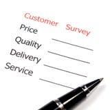 Marketing Survey Stock Photography