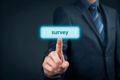 Marketing survey Royalty Free Stock Photos