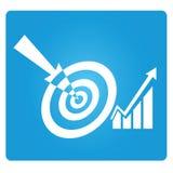 Marketing target Stock Images