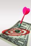 Marketing target sales Royalty Free Stock Image