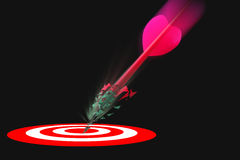Marketing target winner 2 Royalty Free Stock Photo