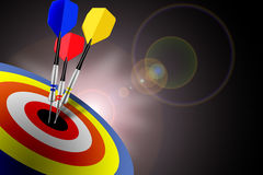 Hitting Targets stock illustration