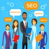 Marketing Team Concept Business People Group Stockfotografie