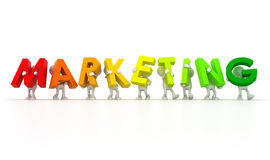 Marketing team Royalty Free Stock Images