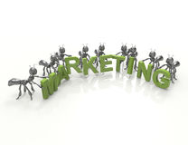Marketing team Stock Images