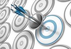 Marketing-Trichter, ziehen Verbraucher-Konzept an Lizenzfreie Stockbilder