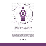Marketing Vision Business Idea Banner With Copy Space Stock Photography