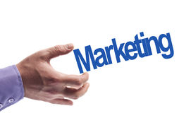 Marketing word Stock Images