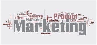 Marketing word cloud Stock Photography