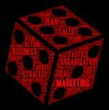 Marketing Word Cloud Royalty Free Stock Image