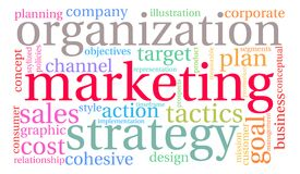 Marketing Word Cloud Stock Images